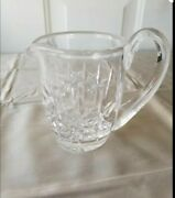 Waterford Crystal Lismore Sugar Bowl And Creamer Cut Crystal Made In Germany