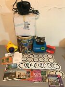 Large Collection Of Vintage View Master Viewers And Reels