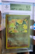 1999 Base Unlimited Charizard Holo Bgs 8.5 Potential Psa 9 - Near Mint Condition