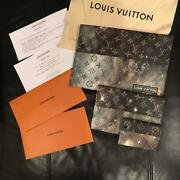 Louis Vuitton Monogram Galaxy Clutch Bag Pack Pouch Card Case F/s From Japan
