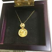 Yoshikitty Limited Necklace Hello Kitty Limited 2019 Gold Original F/s From Jpn