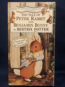 The Tale Of Peter Rabbit And Benjamin Bunny Vhs Collectors Ed. By Beatrix Potter