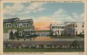 1943 Myrtle Beach,sc Driftwood-by-the-sea Horry County South Carolina Postcard
