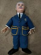 Captain Kangaroo Baby Barry Toy Nyc Vinyl Doll 1950and039s 1960and039s Vintageandnbsp