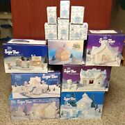 Precious Moments Sugar Town Seven Complete Sets Collectable Christmas