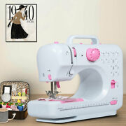 Sewing Machine Portable Electric Crafting Mending Machine 12 Built-in Stitches