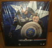 Captain America The Winter Soldier Captain America And Steve Rogers Hot Toys 2014