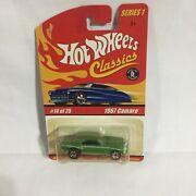 Hot Wheels Classic - Series 1 - 1967 Camaro Limited Edition 14 Of 25