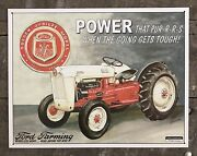 Ford Farming Golden Jubilee Model 1953 Tractor Tin Metal Sign