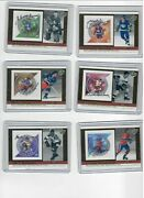 2004 Canada Post Stamps Nhl All-star Autograph Set Of 6 Dionne Bower Lindsay+