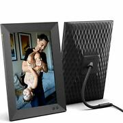 Nixplay Smart Digital Picture Frame 10.1 Inch, Share Video Clips And Photos