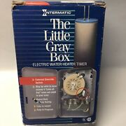 Intermatic Mechanical Electric Water Heater Timer 250v Wh40 Little Gray Box Fs
