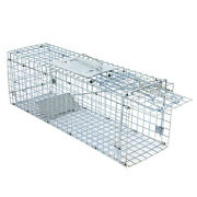 Live Animal Trap Extra Large Rodent Cage Garden Rabbit Raccoon Cat 24x8x 7.5