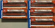 Walthers Hiawatha Milwaukee Road 5 Cars Super Dome Tap Lounge Diner Parlor Coach