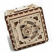 Ugears Mechanical 3d Safe, Valentine's Gifts, Adult Puzzle, Wooden Brain Teas...