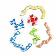 Ganowo 6 Pack Magic Snake Cube Mini Twist Puzzle Collection Brain Teaser Toy ...