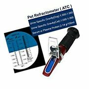 Rhino Clinical Pet Dog And Cat Refractometer Hr305 Atc, Urine Specific Test