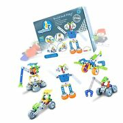 Jr Engineer - Robot And Airplane   Junior Educational Stem Learning Constructio...