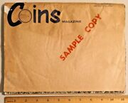 1967 Coin Magazines - The Magazine Of Coin Collecting Sample Copy Rare - 4322