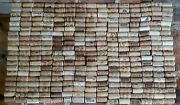 300 Used Wine Corks - All Natural, No Synthetic Or Champagne