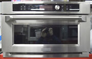 Ge Monogram Zsc1202jss 30 Single Electric Wall Oven And Microwave