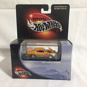 100 Hot Wheels Pro Street ' 69 Camaro Limited Edition Includes Display Case