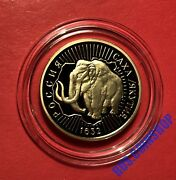 100 Roubles 1992 Russia Yakutiaand039s Voluntary Entering Into Russia Gold Proof