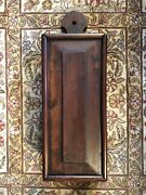 Antique Wall Hanging Candle Box