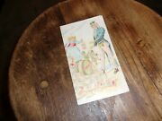 Trade Card Pillsbury,s Flour Uncle Sam We Feef The Nation Of The Earth