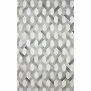 Bashian Santa Fe Ethan 5and039 X 8and039 Area Rug In Gray