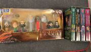 The Hobbit Pez Set And The Hobbit/lord Of The Rings Books