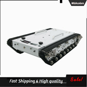 Wt600s Assembled Robot Tank Chassis Metal Tracked Tank Car Rc Off-road Vehicle