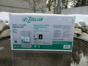 New Zoeller Well Pump Control Box 1hp Steel 1010-2338 Submersible Msrp 84.98