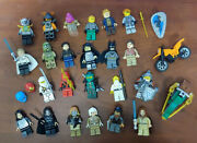 Lot Of 23 Different Lego Minifigures Figs Star Wars Ninjago Figures Authentic