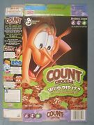 2004 Mt General Mills Cereal Box Count Chocula Who Did It [y155c14f]