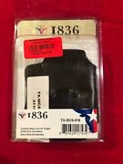 1836 Leather Double Magazine Pouch For Springfield Xds And Smith And Wesson 4506
