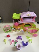 2009 Fisher Price Little People Fairy Fairies Tree House Playset Horse Carriage