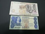 South Africa 2-20 Rand Banknotes 1986
