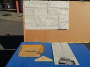 1948 Bally Lexington Horse Race Pinball Service Schematic And Control Switch Chart
