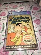 Captain Marvel Adventures 31 Cgc 8.5 High Grade Hard To Find Golden Age Beauty