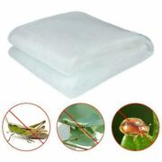 10pcs 10x100ft Garden Mosquito/insect Barrier Netting Mesh Protect Vegetables