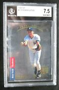 Derek Jeter Rc 1993 Ud Sp Authentic Pose Rookie279 Bgs7.5yankees Ss Rc Goat