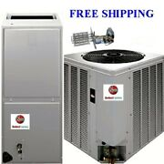 4 Ton R410a 14seer Mobile Home Electric System Condenser/air Handler With Coil