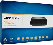 Linksys N600 Dual Band Wireless Router E2500-ca Brand New In Sealed Box.
