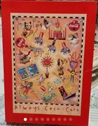 Mint Very Rare Always Coca Cola Jigsaw Puzzle 1000 Pieces 1996 F/s