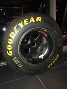 F1 Formula 1 Actually Used Benetton Front Tire And Wheel