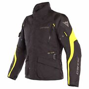 Dainese Tempest 2 D-dry Mens Jacket Black/black/fluo Yellow