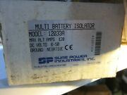 Sure Power Industries Multi Battery Isolator Model 12033a 120 Amp