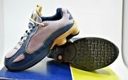 New Nike Shox Monster Ps Sneakers Navy Silver Grey Kids Size 1.5y 309612 401