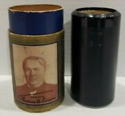 Antique Edison Cylinder Record 3670 Till We Meet Again G.rice And V.dalhart